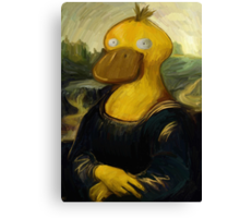 mona psyduck painting Canvas Print