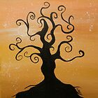 Tree Dawn by Claire Watson