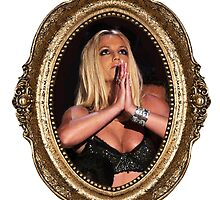 Britney praying. by Bsbodyache