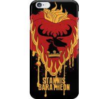 Stannis Baratheon Shirt Game of Thrones iPhone Case/Skin