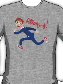 Allons-y! (full colour) T-Shirt