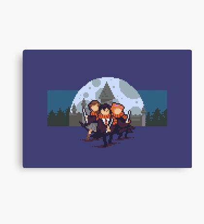 Harry Pixel Canvas Print