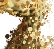 Morning Giraffe  Sticker