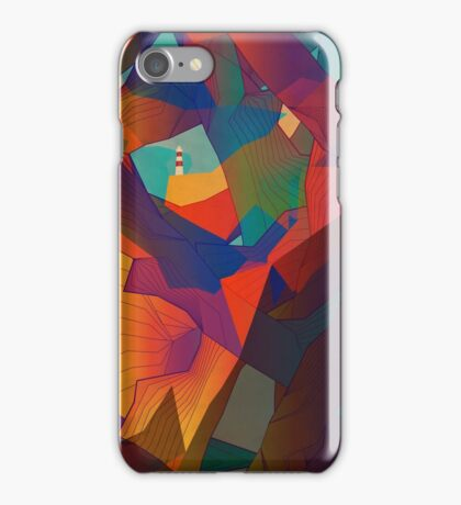 The Rocks by the Lighthouse iPhone Case/Skin