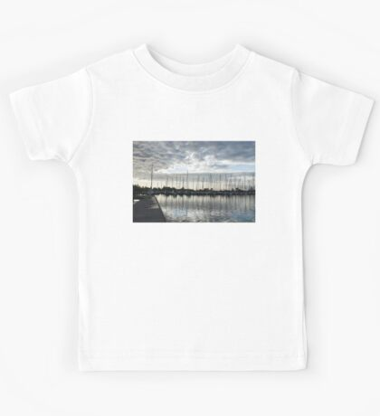 Silvery Grays and Blues -  Kids Tee