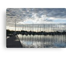Silvery Grays and Blues -  Canvas Print