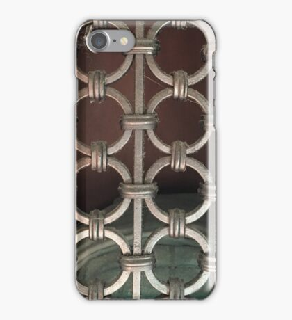 Cool pattern phone case chain link iPhone Case/Skin