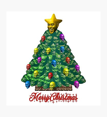 Merry Christmas Ainsley Photographic Print