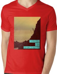 Fishing for Compliments Mens V-Neck T-Shirt
