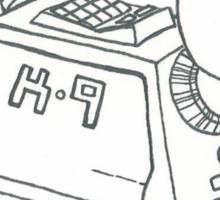 K-9 Sticker