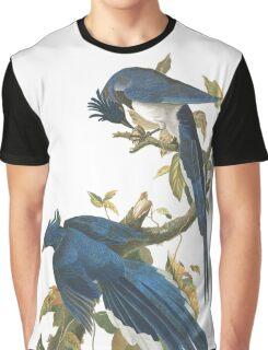 Steller's Jay - John James Audubon Graphic T-Shirt