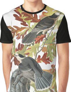 Gray Jay - John James Audubon  Graphic T-Shirt