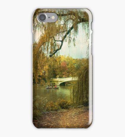 Neath the Willow iPhone Case/Skin