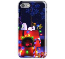 CHARLIE BROWN SNOOPY CHRISTMAS 8 DYK iPhone Case/Skin