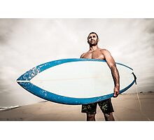 Surfer wathing the waves Photographic Print