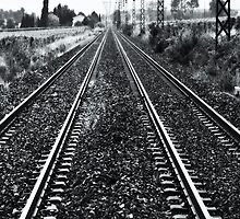 Rail Road Tracks by Huw Williams
