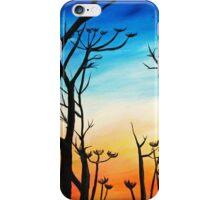 Fall Silhouette iPhone Case/Skin