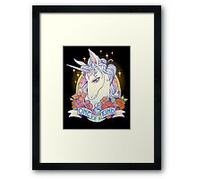 One of a Kind Creature Framed Print