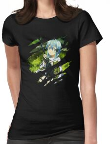Sinon Anime Manga Shirt Womens Fitted T-Shirt
