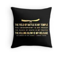 elias ember Throw Pillow