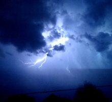 Lightning in Lebanon by Katy Wuerker
