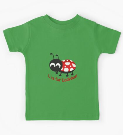 L is for Ladybug Kids Tee