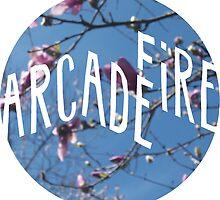 Arcade Fire/Tulip Magnolia by E. Drinnon