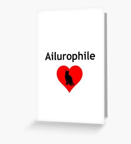 Ailurophile Greeting Card