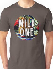 Wild One Native American Watercolor Unisex T-Shirt