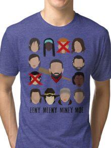 Negan - Eeny Many Moe Tri-blend T-Shirt