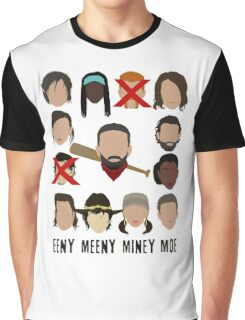Negan - Eeny Many Moe Graphic T-Shirt