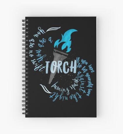 helene torch 2 Spiral Notebook