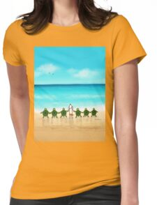 Vacation Womens Fitted T-Shirt