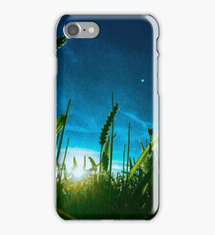 luz azul iPhone Case/Skin