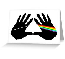 Dark side hands Greeting Card
