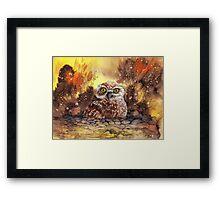 """""""Burrower"""" Framed Print"""