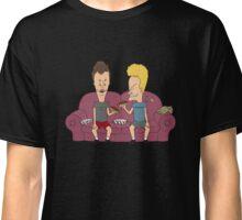 Beavis & Butthead sofa Classic T-Shirt