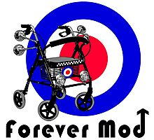 Forever Mod ! Photographic Print