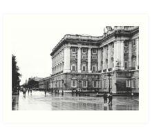 Palacio Real, Madrid Art Print