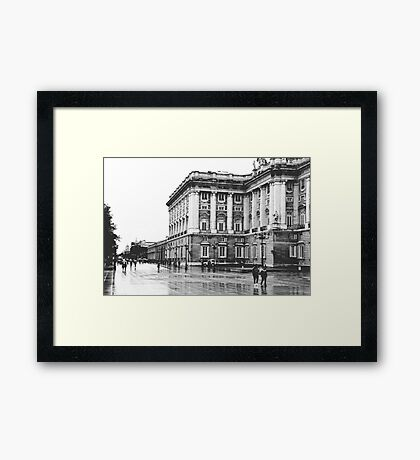 Palacio Real, Madrid Framed Print
