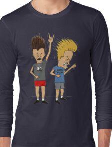 Beavis & Butthead headbang Long Sleeve T-Shirt