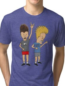 Beavis & Butthead headbang Tri-blend T-Shirt