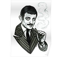 Gomez Addams Poster