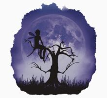 Moonlight Wondering Fairy - Purple One Piece - Short Sleeve
