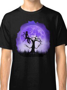 Moonlight Wondering Fairy - Purple Classic T-Shirt