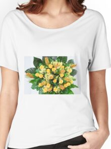 flower bouquet On white background  Women's Relaxed Fit T-Shirt