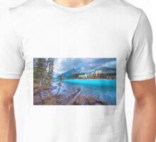 Dreamy Chateau Lake Louise Unisex T-Shirt