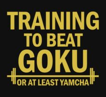 Training to beat Goku - Yamcha 3 by Lamamelle2nd