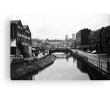 Lincoln in the 1980s - near the University Canvas Print