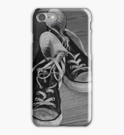 Black and White Kicks iPhone Case/Skin